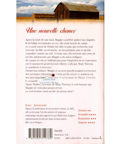 Une nouvelle chance (Lisa Jackson) - J'ai lu N° 6028 - Résumé