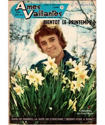 Ames Vaillantes N° 11 paru en 1963 : Bientôt le printemps…