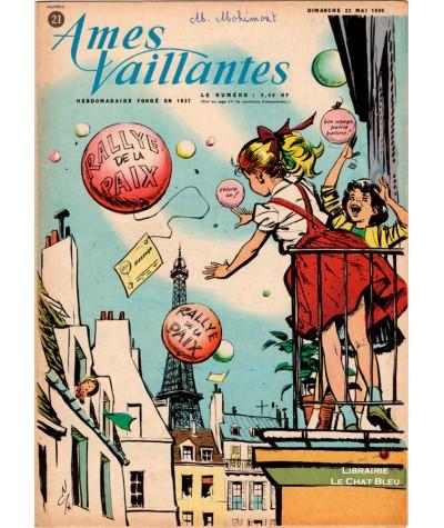 Ames Vaillantes N° 21 paru en 1960 : Rallye de la paix