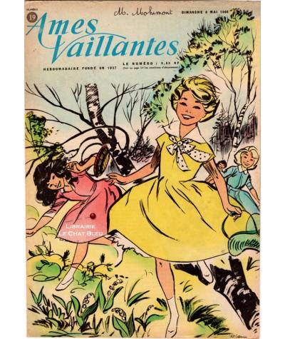 Ames Vaillantes N° 19 paru en 1960
