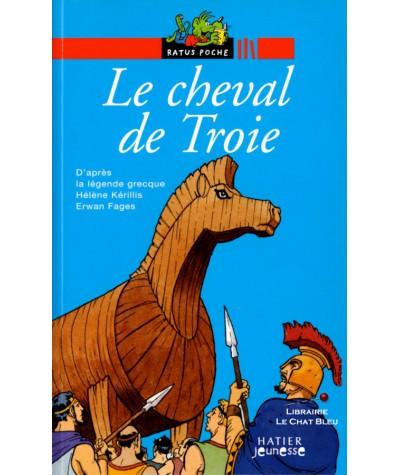 Le cheval de Troie (Hélène Kérillis, Erwan Fages) - Ratus Poche N° 26
