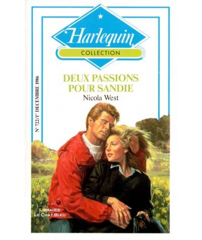 Deux passions pour Sandie (Nicola West) - Collection Harlequin N° 722