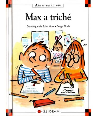 Max a triché (Dominique de Saint-Mars, Serge Bloch) - Ainsi va la vie N° 15