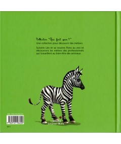 Au zoo (Sylvie Durbec, Fred Saurel) - Collection « Qui fait quoi ? » - Le Bonhomme Vert