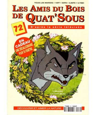 Magazine Les Amis du Bois de Quat'Sous N° 72 : Tapage à la ferme