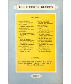 Les porteurs de masques (Jean Miroir) - Les Heures Bleues - Editions Tallandier