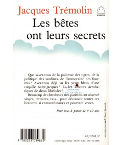 Les bêtes ont leurs secrets (Jacques Trémolin) - Le livre de poche N° 241