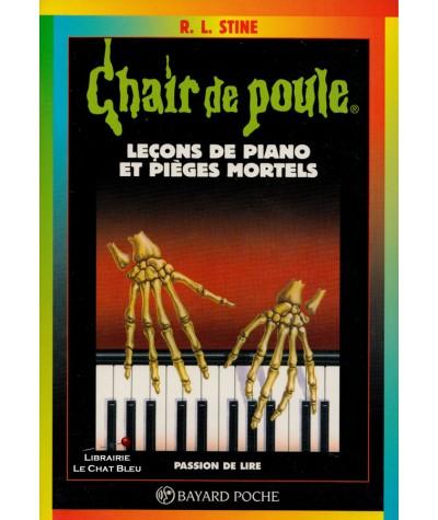 Chair de poule T19 : Leçons de piano et pièges mortels (R.L. Stine) - Bayard Jeunesse