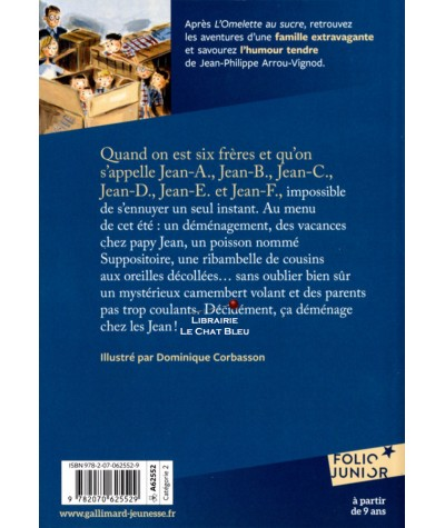 Le camembert volant (Jean-Philippe Arrou-Vignod) - Folio Junior N° 1268