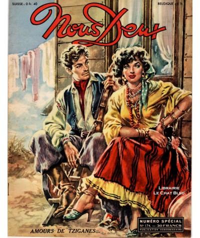 Magazine Nous Deux n° 174 paru en 1950 : Amours de tziganes
