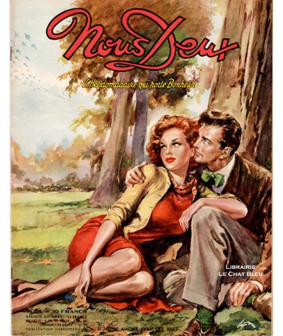 Magazine Nous Deux n° 226 paru en 1951 : Si notre amour avait des ailes…