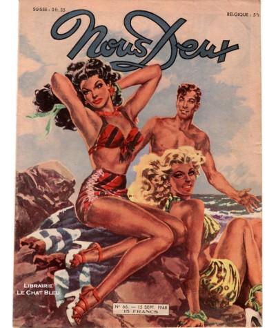 Magazine Nous Deux n° 66 paru le 15 septembre 1948
