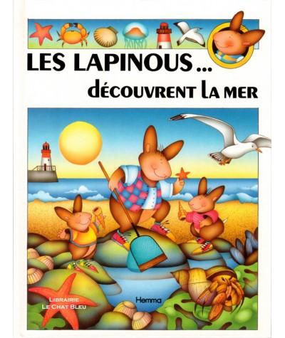 Les lapinous… découvrent la mer (Sylvie Rainaud, Joëlle Barnabé) - HEMMA Jeunesse