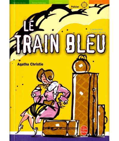Le train bleu (Agatha Christie) - Le livre de poche N° 1282