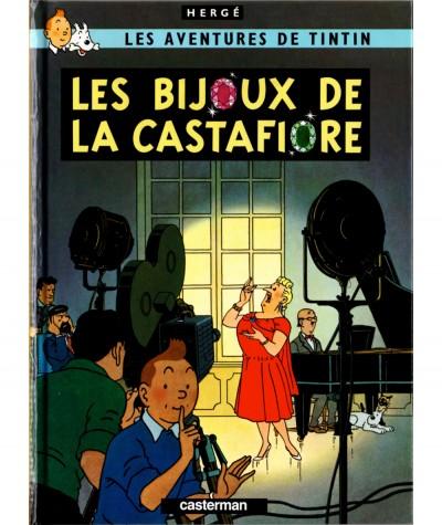 Les aventures de Tintin T21 : Les bijoux de la Castafiore (Hergé) - Mini-album Casterman
