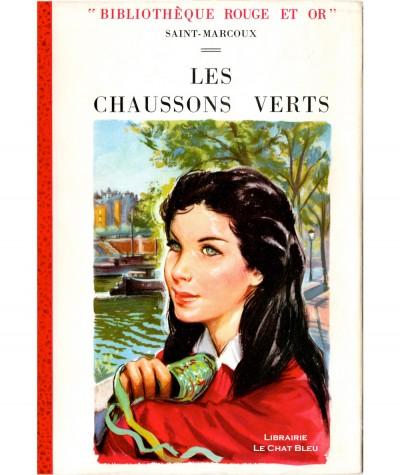 Les chaussons verts - Michèle des îles - (Saint-Marcoux) - Bibliothèque Rouge et Or