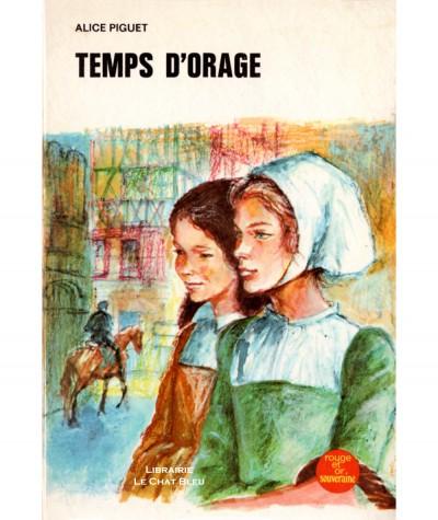 Temps d'orage (Alice Piguet) - Bibliothèque Rouge et Or N° 2.735