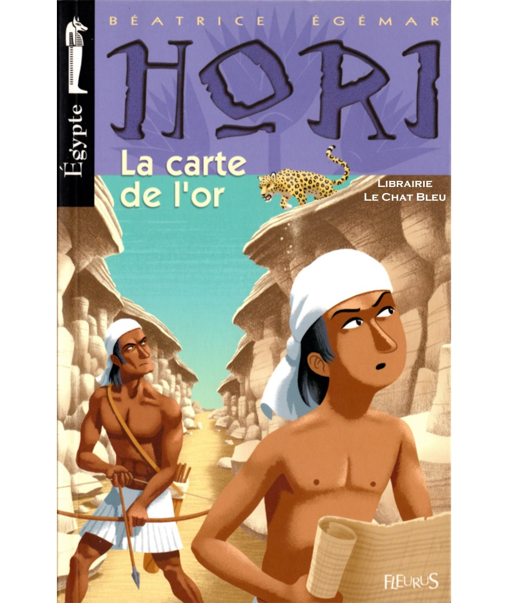 HORI scribe et détective T4 : La carte de l'or (Béatrice Egémar) - Editions Fleurus