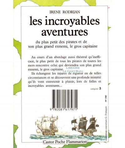 Les incroyables aventures du plus petit des pirates (Irène Rodrian) - Castor Poche N° 88