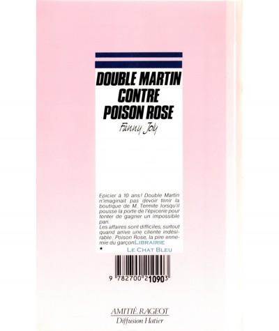 Double Martin contre Poison Rose (Fanny Joly) - Rageot Editeur