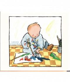 Tout barbouillé ! (Jeanne Ashbé) - Collection Pastel - L'école des loisirs