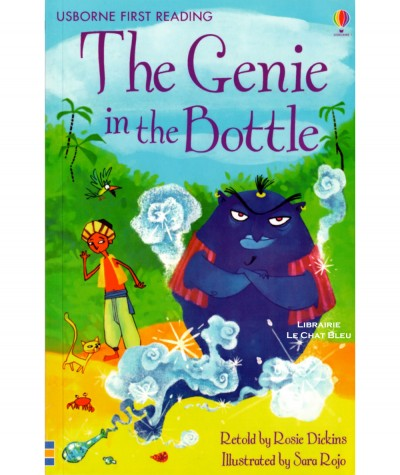 The Genie in the Bottle (Rosie Dickins, Sara Rojo) - USBORNE First Reading
