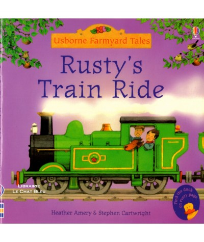 Rusty's train ride (Heather Amery, Stephen Cartwright) - Usborne Farmyard Tales