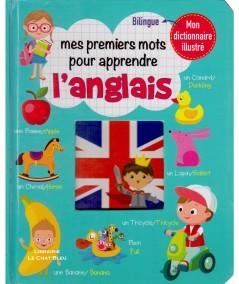 Mon dictionnaire illustré : Mes premiers mots pour apprendre l'anglais - Editions LLC