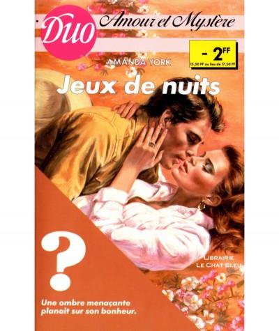 Jeux de nuits (Amanda York) - Duo Amour et mystère N° 5