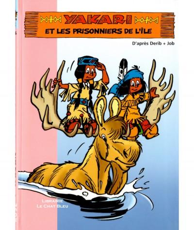 Yakari et les prisonniers de l'île (Florence Mortimer) d'après Derib + Job - Ma première Bbliothèque rose N° 876