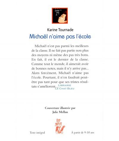 Michaël n'aime pas l'école (Karine Tournade) - Editions Lire c'est partir