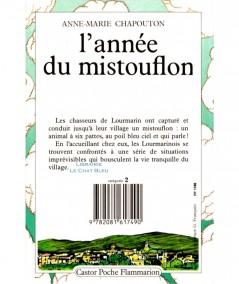 L'année du mistouflon (Anne-Marie Chapouton) - Castor Poche N° 45