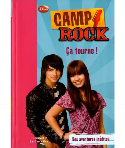 Camp Rock T2 : Ça tourne ! (Walt Disney) - Bibliothèque rose N° 236 - Hachette