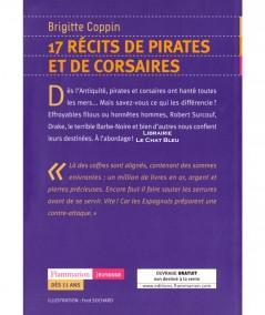17 récits de pirates et de corsaires (Brigitte Coppin) - Flammarion Jeunesse