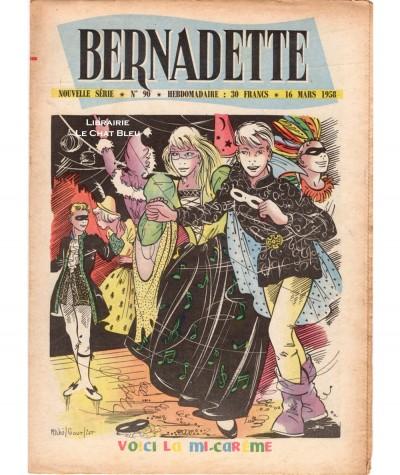 Revue Bernadette N° 90 du 16 mars 1958 : Voici la mi-carème