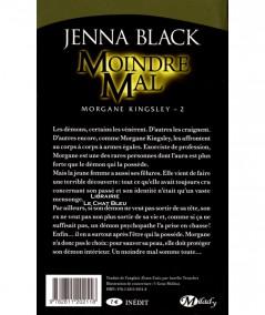 Morgane Kingsley T2 : Moindre Mal (Jenna Black) - Collection Bit-Lit - Editions Milady