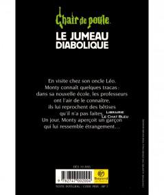 Chair de poule T51 : Le jumeau diabolique (R. L. Stine)- Bayard Jeunesse