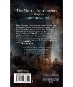 The Mortal Instruments, les origines T1 : L'ange mécanique (Cassandra Clare) - Pocket Jeunesse N° 3024