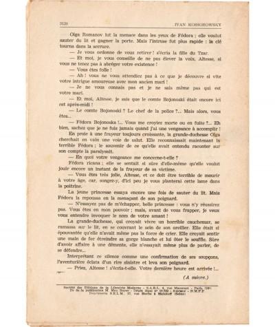 SONIA, La déportée de Sibérie (Ivan Kossorowsky) - Fascicule N° 195