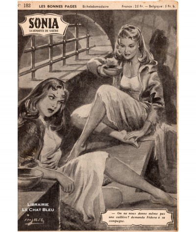 SONIA, La déportée de Sibérie (Ivan Kossorowsky) - Fascicule N° 182