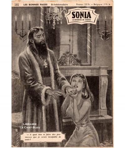 SONIA, La déportée de Sibérie (Ivan Kossorowsky) - Fascicule N° 181
