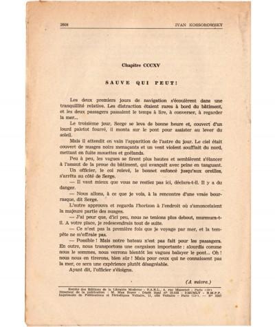 SONIA, La déportée de Sibérie (Ivan Kossorowsky) - Fascicule N° 163