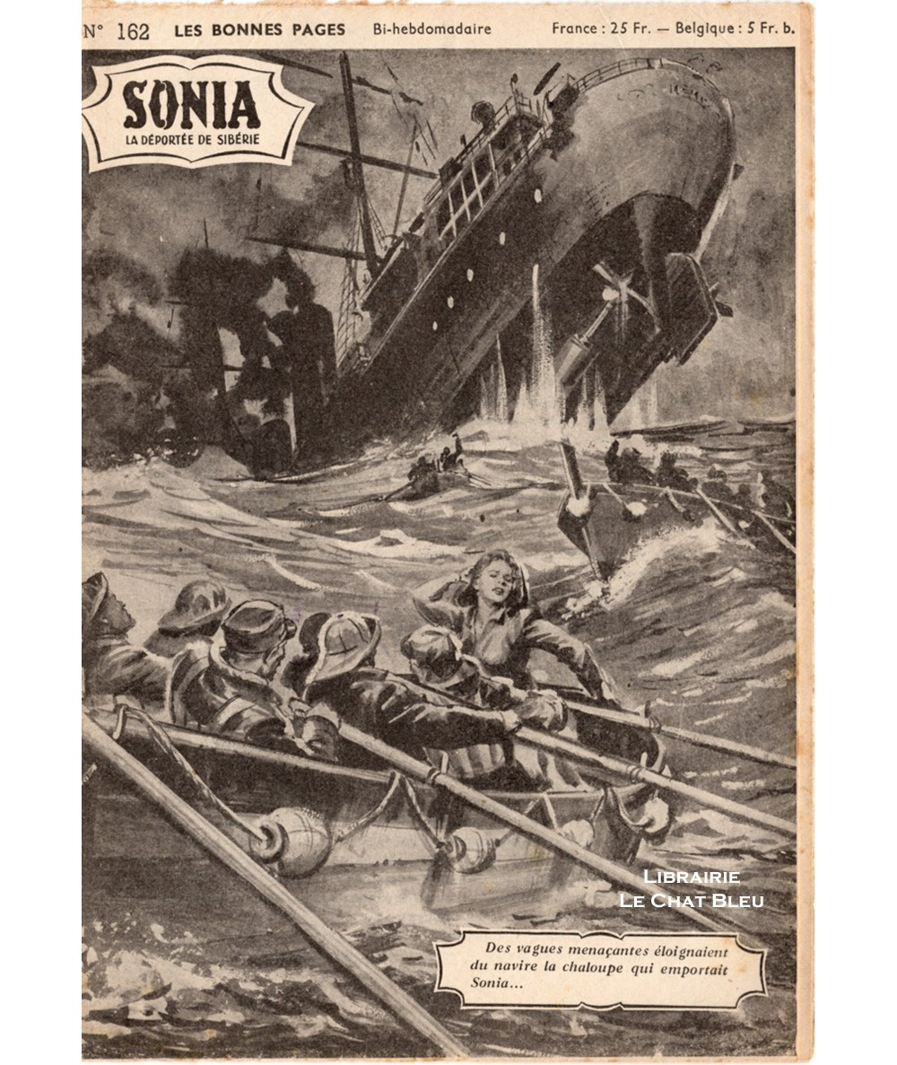 SONIA, La déportée de Sibérie (Ivan Kossorowsky) - Fascicule N° 162