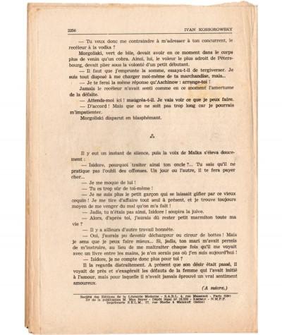 SONIA, La déportée de Sibérie (Ivan Kossorowsky) - Fascicule N° 141