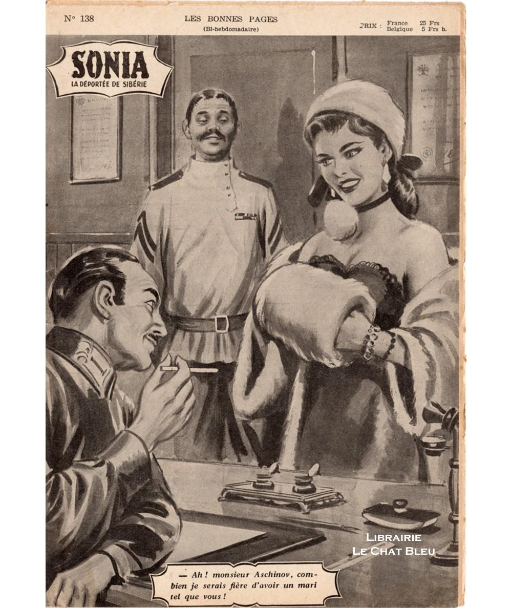 SONIA, La déportée de Sibérie (Ivan Kossorowsky) - Fascicule N° 138