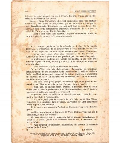 SONIA, La déportée de Sibérie (Ivan Kossorowsky) - Fascicule N° 123