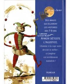 Le jongleur le plus maladroit (Evelyne Brisou-Pellen) - Demi-lune N° 27 - Editions NATHAN