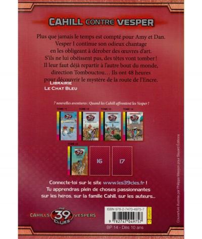 Les 39 clés T15 - Cahill contre Vesper : Frayeurs à Tombouctou (Roland Smith) - Bayard Jeunesse