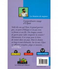 L'extraordinaire voyage d'Ulysse (Hélène Kérillis, Erwan Fages) - Ratus Poche N° 21 - Editions Hatier