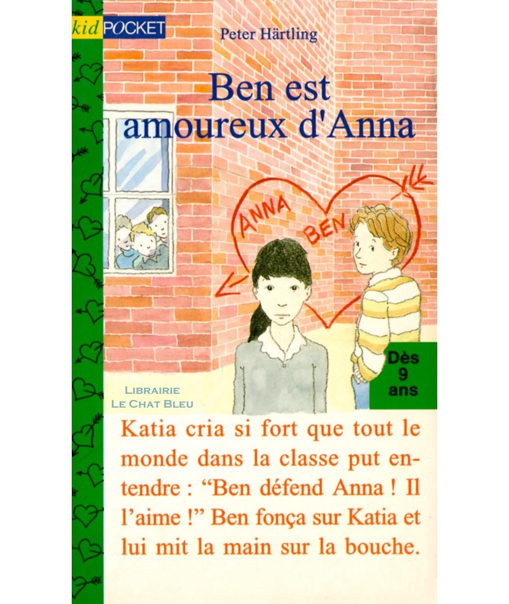 Ben est amoureux d'Anna (Peter Härtling) - Kid Pocket N° 122